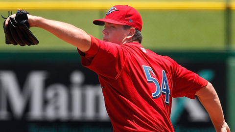 Trevor May led the Florida State League with 208 strikeouts last season.