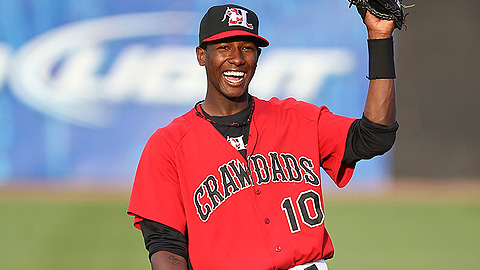Jurickson Profar was voted Most Valuable Player in the Sally League in '11.