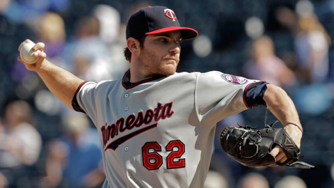Liam Hendriks posted a 6.17 ERA in four starts for the Twins last September.