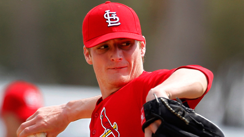 Shelby Miller was 11-6 with a 2.77 ERA in 25 Minor League games in 2011.